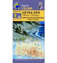 Wanderkarten Kreta Anavasi Topo Kreta 11.11/11.12, Lefká Óri/Weiße Berge 1:25.000 Anavasi Mountain Editions