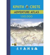 Wanderkarten Kreta Anavasi Adventure Atlas Crete/Kreta 1:50.000 Anavasi Mountain Editions