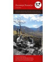 Wanderkarten Slowenien Zgornje Posočje  - The Walk of Peace 1:25.000 Pot Miru - The Walk of Peace