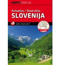 Reise- und Straßenatlanten Autoatlas/Road Atlas Slovenija/Slowenien 1:75.000 Kartografija Slovenia