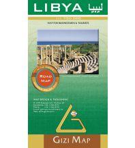 Straßenkarten Gizi Map Libyen, Straßenkarte, 1:1.750.000 Gizi Map