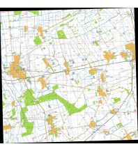 Wanderkarten Ungarn L33-23-A Topografische Karte Ungarn - Kapuvár 1:50.000 TOP-O-GRAF Terkepbolt Hungarian Defense Forces