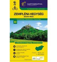 Wanderkarten Cartographia Wanderkarte 22 Ungarn - Zempleni-Hegyseg (Eszaki Resz) South 1:40.000 Cartographia Budapest
