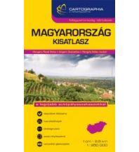 Reise- und Straßenatlanten Cartographia Kisatlasz Ungarn/Hungary/Magyarország 1:250.000 Cartographia Budapest
