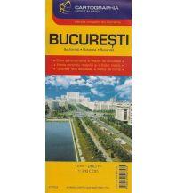 Stadtpläne Cartographia City Map Bukarest 1:26.000 Cartographia Budapest