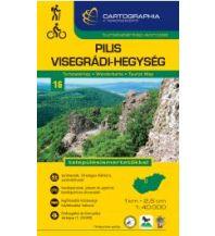 Wanderkarten Ungarn Cartographia-Wanderkarte 16, Pilis, Visegrádi-hegység 1:40.000 Cartographia Budapest