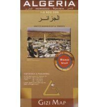 Straßenkarten Gizi Map Algerien, Straßenkarte 1:2.500.000 Gizi Map