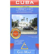 Straßenkarten Cuba, Geographical Map Gizi Map