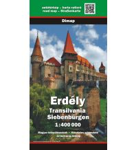 Straßenkarten Rumänien Dimap-Straßenkarte Siebenbürgen/Erdély/Transilvania 1:400.000 DIMAP & ERMAP & Szarvas & F&B