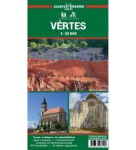 Wanderkarten Ungarn Szarvas-Wanderkarte Vértes 1:30.000 Szarvas Andras