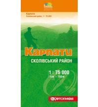Wanderkarten Ukraine Kartohrafija-Wanderkarte Karpaty/Karpaten: Skole 1:75.000 Kartohrafija