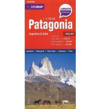 Straßenkarten Patagonia, Infomap Zagier y Urruty Publicaciones