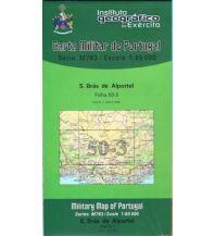 Wanderkarten Portugal Carta Militar de Portugal 50-3, S. Brás de Alportel (Algarve) 1:50.000 Instituto Geografico de Exercito