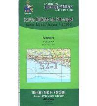 Wanderkarten Portugal Carta Militar de Portugal 52-1, Albufeira (Algarve) 1:50.000 Instituto Geografico de Exercito