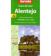 Straßenkarten Portugal Turinta Portugal Regional Map 3, Alentejo 1:300.000 Turinta