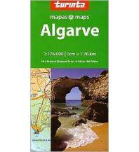 Straßenkarten Portugal Turinta Portugal Regional Map 5 - Algarve 1:176.000 Turinta