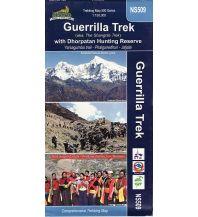 Wanderkarten Himalaya Himalayan Map House Trekking Map 500 Nepal - NS509 - Guerilla Trek with Dhorpatan Hunting Reserve 1:150.000 Himalayan MapHouse