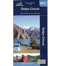 Wanderkarten Himalaya Nepa Trekking Map NS513 Nepal - Dolpo Circuit 1:125.000 Himalayan MapHouse