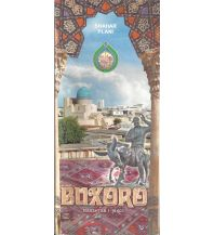 Stadtpläne Buxoro (Bukhara)1:18.000 / 1:550.000 Mollenhauer & Treichel
