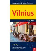 Stadtpläne Jana Seta City Map - Vilnius 1:30.000 Jana seta Map Shop Ltd.