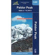 Wanderkarten Himalaya Nepa Trekking Map CL805 Nepal - Paldor Peak 1:50.000 Himalayan MapHouse