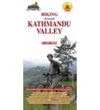 Wanderkarten Himalaya Himalayan Map House Trekking Map Nepal - Around Kathmandu Valley 1:60.000 Himalayan MapHouse