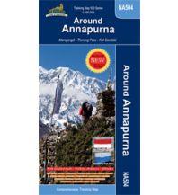 Wanderkarten Himalaya Trekking 500 Map NA504, Around Annapurna 1:100.000 Himalayan MapHouse