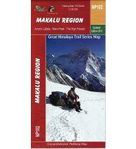 Wanderkarten Himalaya Himalayan Map House Trekking Map 100 Nepal - NP102 - Makalu Region 1:100.000 Himalayan MapHouse