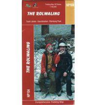Wanderkarten Himalaya Himalayan Map House Trekking Map 100 Nepal - NP104 - The Rolwaling 1:100.000 Himalayan MapHouse