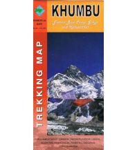 Wanderkarten Himalaya Shangri-La Trekking Map Nepal - Khumbu 1:50.000 Shangri-La Design