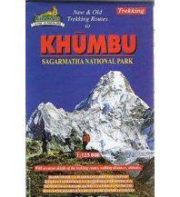 Wanderkarten Himalaya Himalayan Map House Map NE 507 Nepal - Khumbu Sagarmatha National Park 1:125.000 Himalayan MapHouse