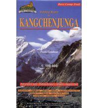 Wanderkarten Himalayan Map House Trekking Map Nepal - Kanchenjunga: Pathibhara & Limbu Cultural 1:100.000 Himalayan MapHouse
