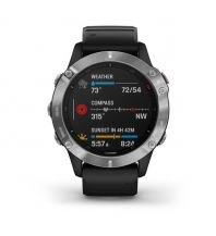 Sport und Fitness Garmin Fenix 6 Schwarz/Silber Garmin International Inc.
