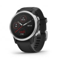 Sport und Fitness Garmin Fenix 6s Silber mit schwarzem Armband Garmin International Inc.