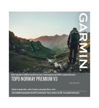 Outdoorkarten Garmin Topo Norwegen Premium v3, Region 5 - Nordvest 1:20.000 Garmin International Inc.