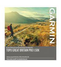 Outdoorkarten Garmin Topo Great Britain / Großbritannien PRO 1:50.000 Garmin International Inc.