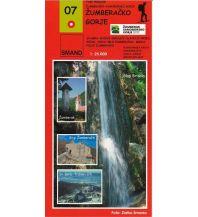 Wanderkarten Kroatien Smand 07 Kroatien - Zumberacko Gorje 1:25.000 Smand d.o.o.