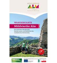 Wanderkarten Oberösterreich Wanderkarte Mühlviertler Alm 1:35.000 Tourismusverband Mühlviertler Alm