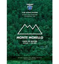 Wanderkarten Apennin CAI-Wanderkarte Monte Morello 1:25.000 Club Alpino Italiano - B.E.L.C.A. Firenze