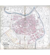Nachdrucke historischer Karten Wien-Innere Stadt - Reprint 1870 Freytag-Berndt und ARTARIA