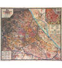 Nachdrucke historischer Karten Wien Reichshaupt- & Residenzstadt - Reprint 1898 Freytag-Berndt und ARTARIA