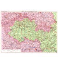 Nachdrucke historischer Karten Alte Heimat Sudetenland 1:600.000 Freytag-Berndt und ARTARIA