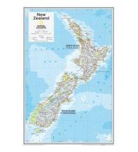 Poster und Wandkarten National Geographic Wall Map - New Zealand National Geographic Society Maps