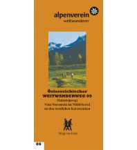 Weitwandern Salzsteigweg - Führer zum Österreichischen Weitwanderweg 09 Österr.Alpenverein Sek.WW
