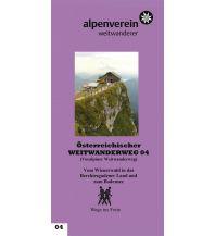 Weitwandern Voralpenweg - Führer zum Österreichischen Weitwanderweg 04 Österr.Alpenverein Sek.WW