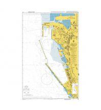 Seekarten British Admiralty Seekarte 45 - Gibraltar Harbour 1:3.600 The UK Hydrographic Office