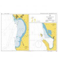 Seekarten Albanien British Admiralty Seekarte 1590 - Häfen in Albanien 1:80.000 The UK Hydrographic Office