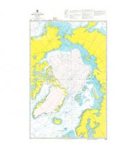 Seekarten Nordatlantik British Admiralty Seekarte 4006 - Planning Chart for the Arctic Region 1:7.500.000 The UK Hydrographic Office