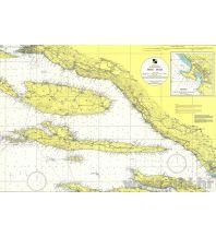 Seekarten Kroatien und Adria Kroatische Seekarte 100-26 - Brac - Hvar 1:100.000 Hrvatski Hidrografski Institut Repubika Hrvatska
