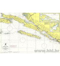Seekarten Kroatien und Adria Kroatische Seekarte 100-27 - Pelješac, Mljet 1:100.000 Hrvatski Hidrografski Institut Repubika Hrvatska